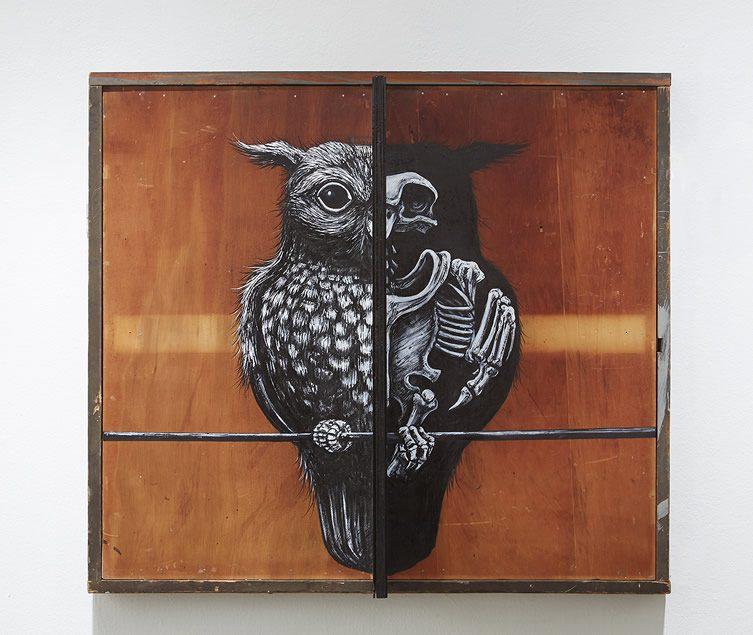 ROA Metazoa at Jonathan LeVine Gallery, New York