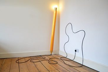 Michael & George — HB Lamp, Stationery Objects
