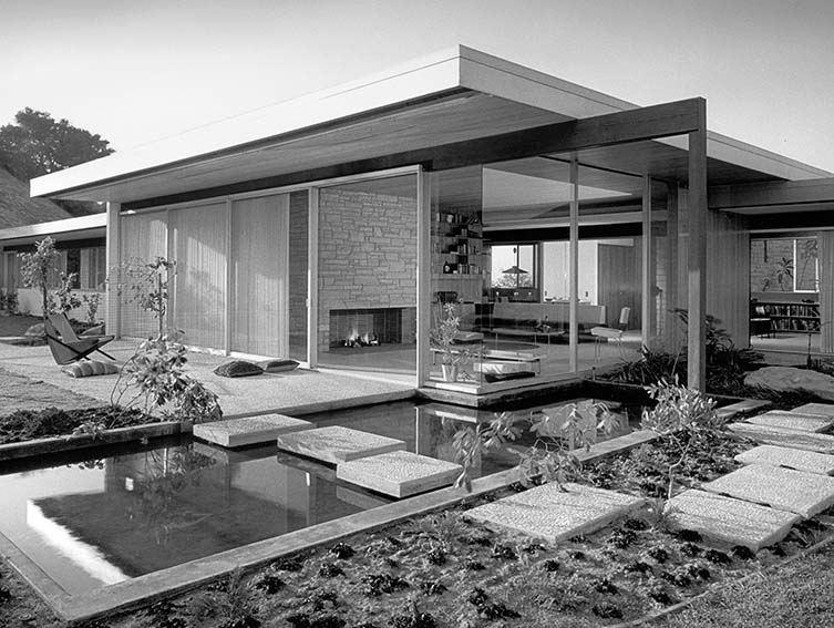 eton Residence, Richard Neutra, Bel Air, Los Angeles, California