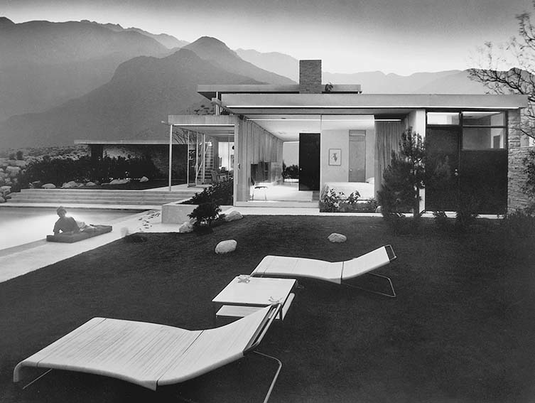 Kaufmann House, Richard Neutra, Palm Springs, California