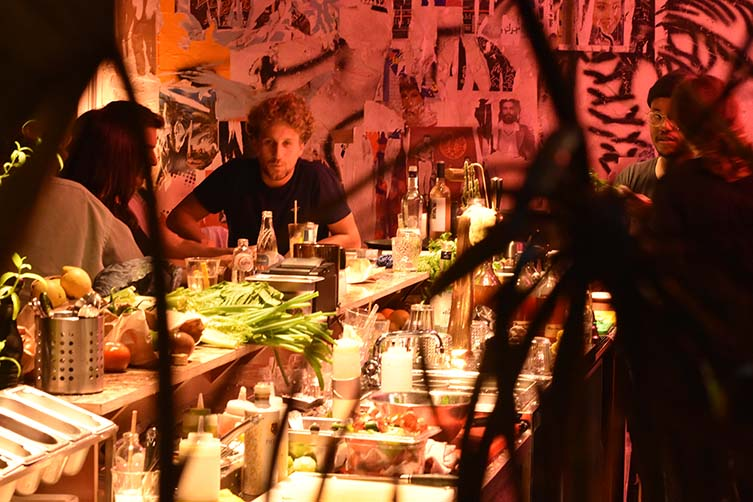 Middle Eats Antwerp, Disco Dining at Tel Aviv-inspired Restaurant