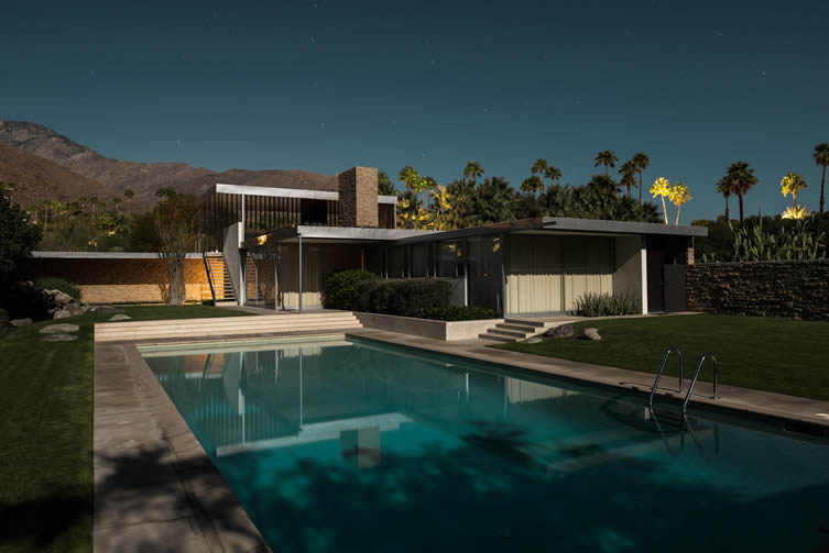 Kaufmann Desert House. Richard Neutra, 1946