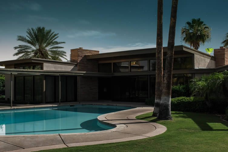Frank Sinatra Twin Palms Estate. E. Stewart Williams, 1947