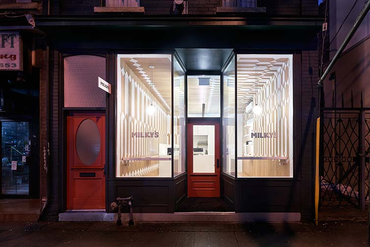 Milky's Toronto, Third Wave Coffee Shop Designed by Batay-Csorba Architects