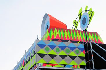 Morag Myerscough and Luke Morgan, MIRAR — Ways of Seeing