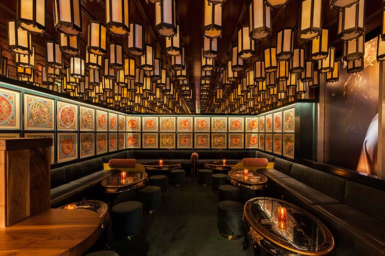 Miss Wong Laval Quebec Chinese Restaurant by Ménard Dworkind architecture & design