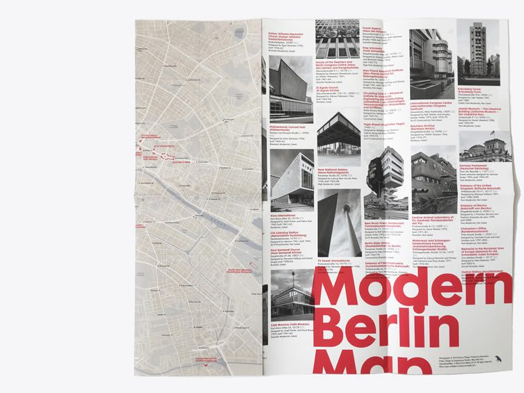 Berlin Architecture Map