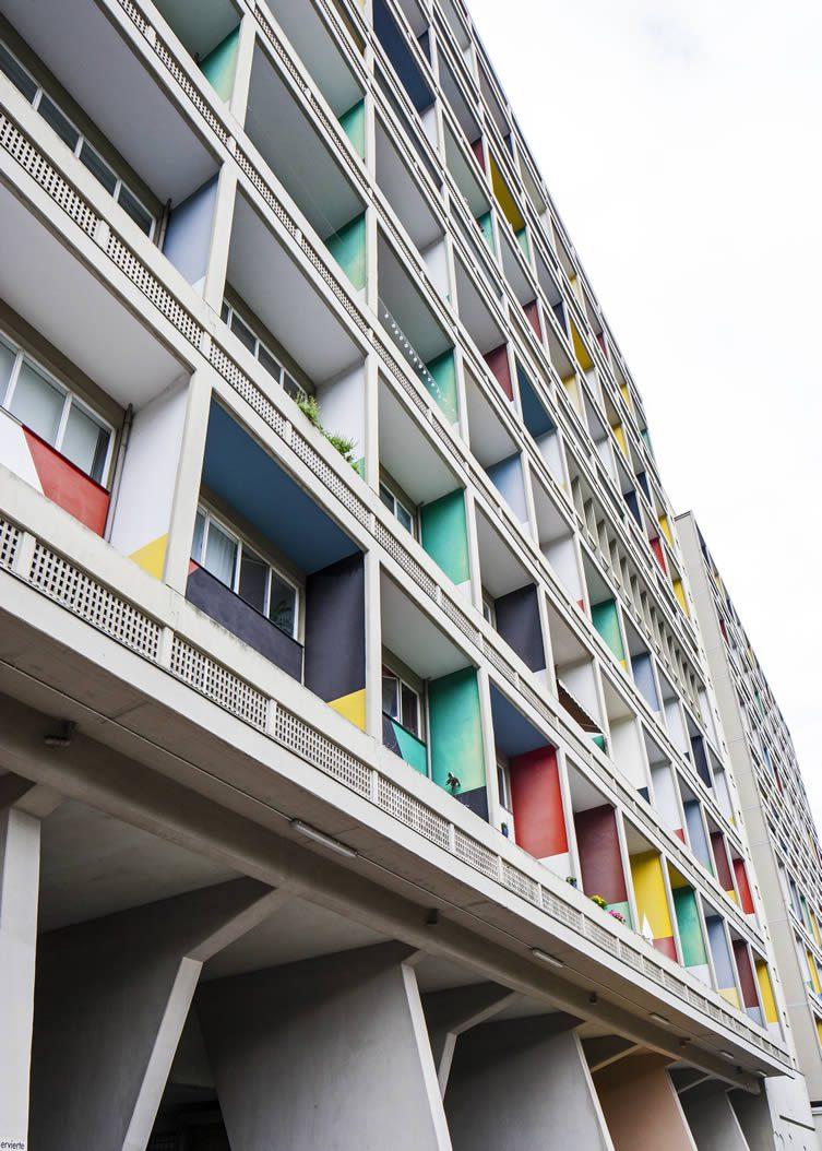 Unité d'Habitation, Corbusierhaus Berlin Architecture Map