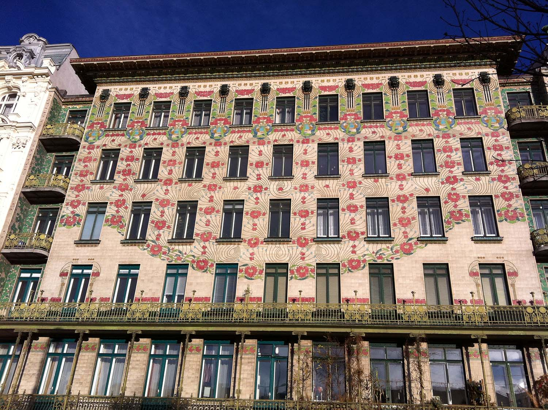 Otto Wagner's Majolikahaus in Vienna
