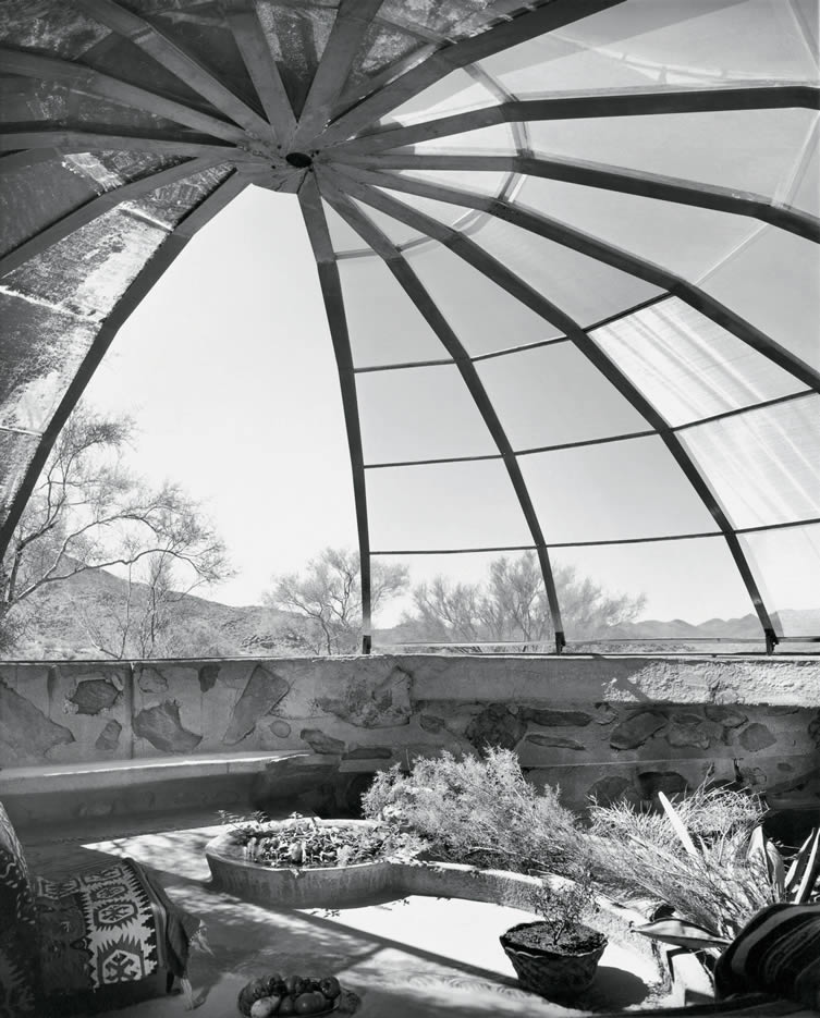 Woods Residence (The Dome House) by Soleri & Mills