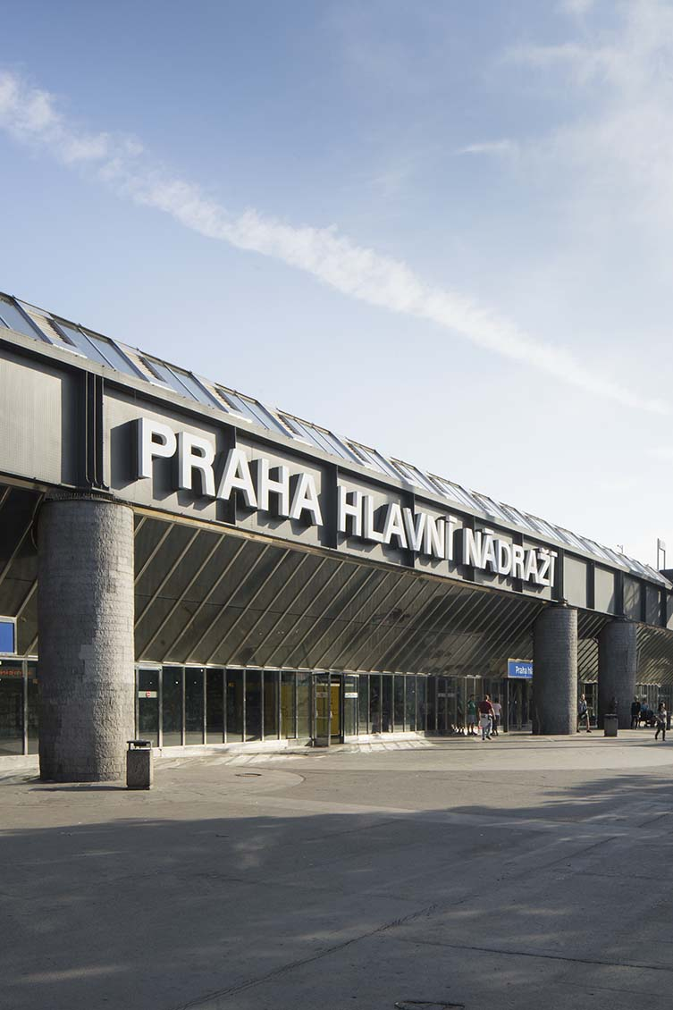 Main Train Station Extension / Přístavba Hlavního nádraží, Josef Danda, Jan Bočan, Jan Šrámek, Alena Šrámková, Zdeněk Rothbauer, 1972-79