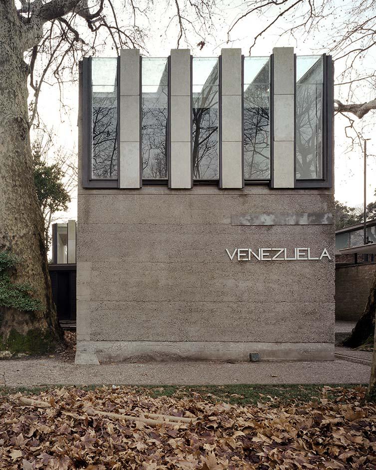 Venezuela Pavilion (Giardini della Biennale), Carlo Scarpa, 1953-56