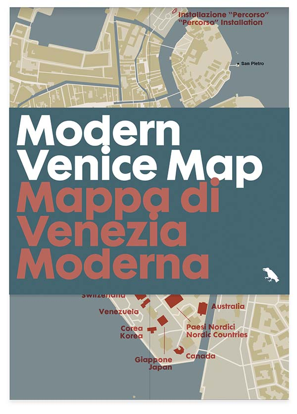 Modern Venice Architecture Map Published by Blue Crow Media