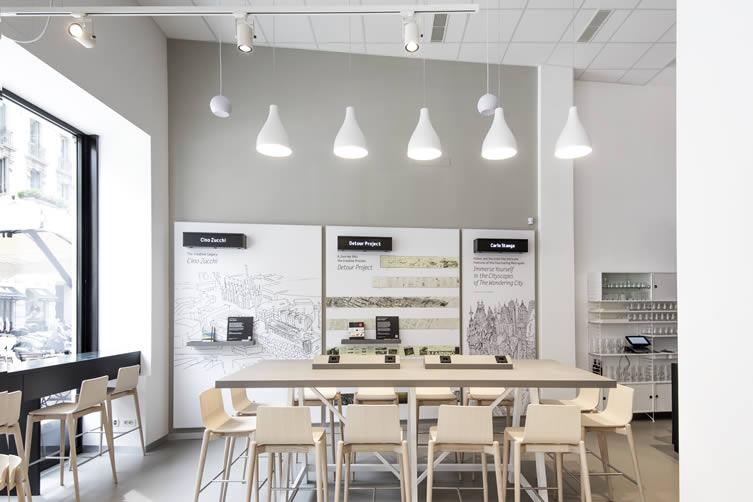 Moleskine Café Milan, Brera Design District Coffee Shop