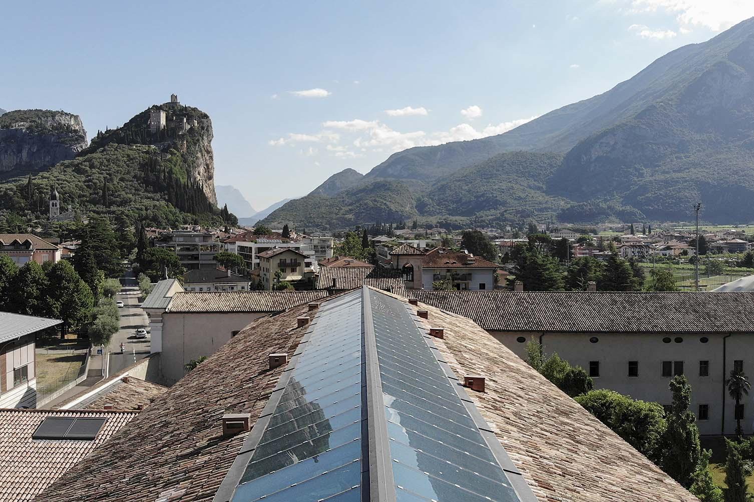 Monastero Arx Vivendi Arco Trentino Italy Designed by noa* Network of Architecture