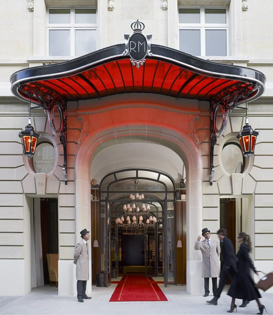 Le Royal Monceau Hotel, Paris