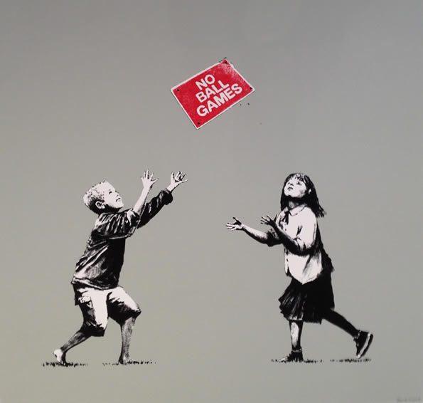 Banksy, No ball games