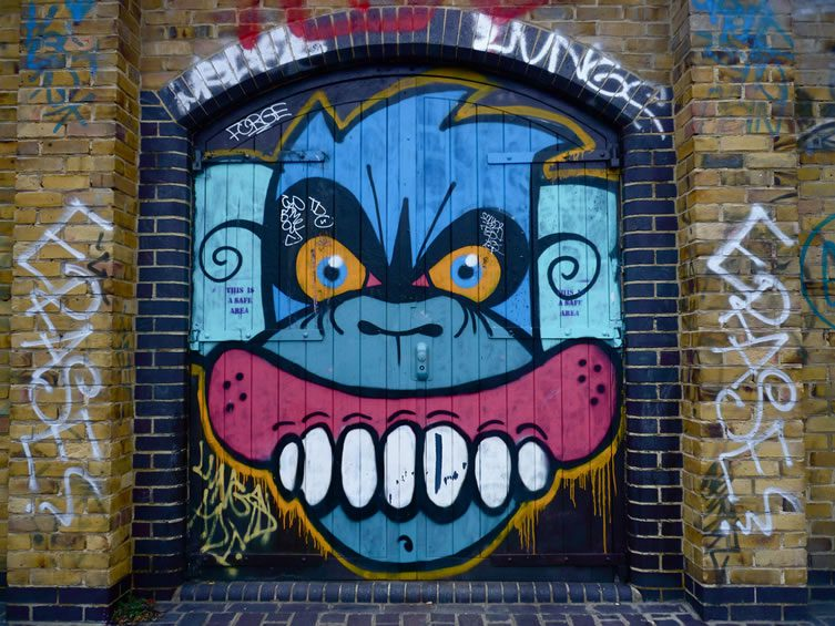 Mighty Mo + Sweet Toof Street Art