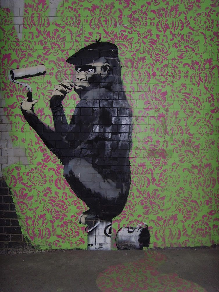 BANKSY, Cans Festival 2008