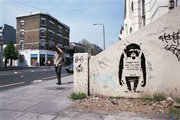BANKSY Monkeys