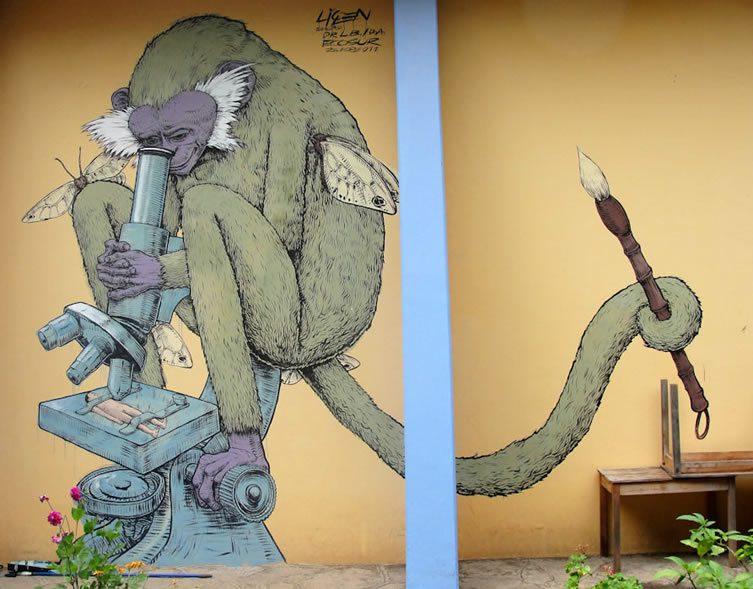 Liqen Street Art