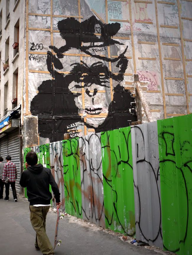 Zoo Project Paris Street Art