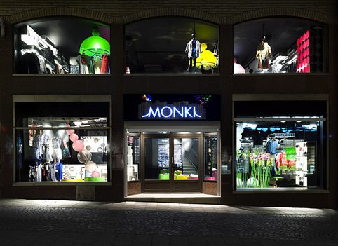 Monki store design by Electric Dreams