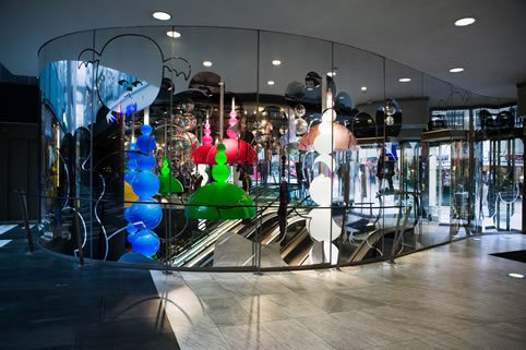 Monki Girl Store Design