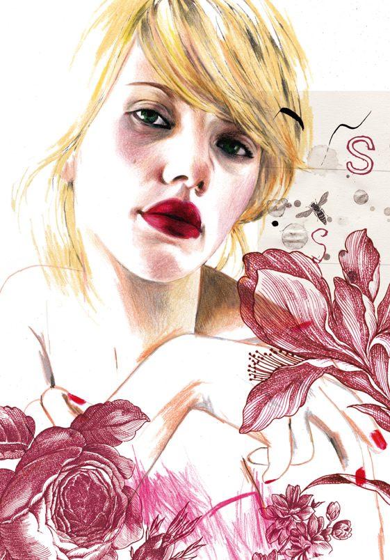 Montse Bernal's Fashion Illustrations