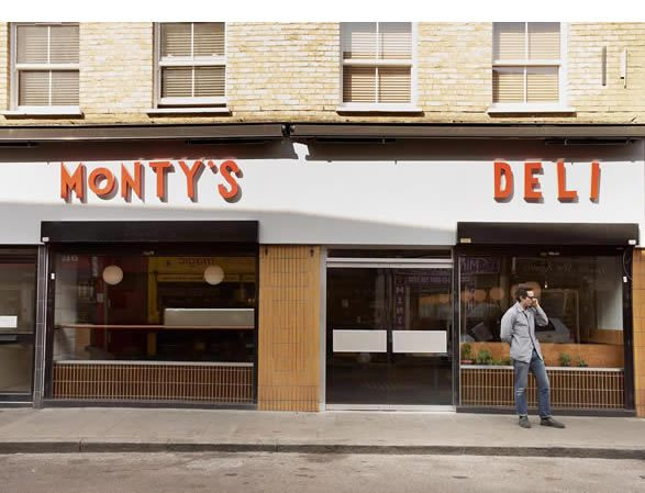 Monty's Deli Hoxton Street London, Mark Ogus and Owen Barratt