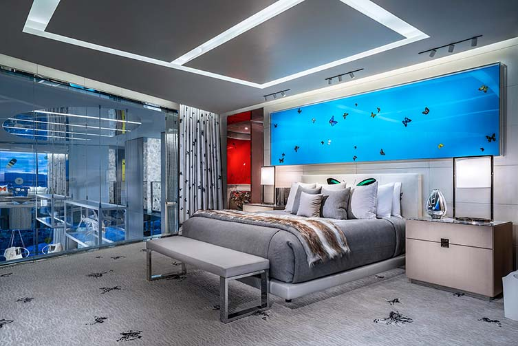 Empathy Suite, Palms Casino Resort, Las Vegas