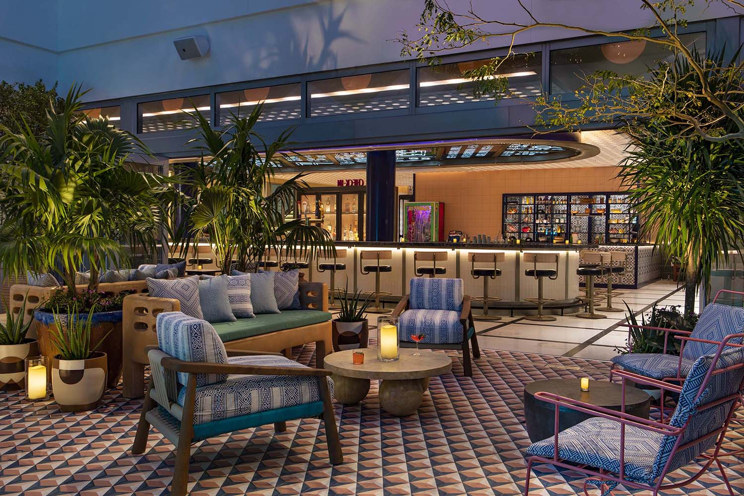 Moxy Miami South Beach Design Hotel Designed by Rockwell Group Marriott