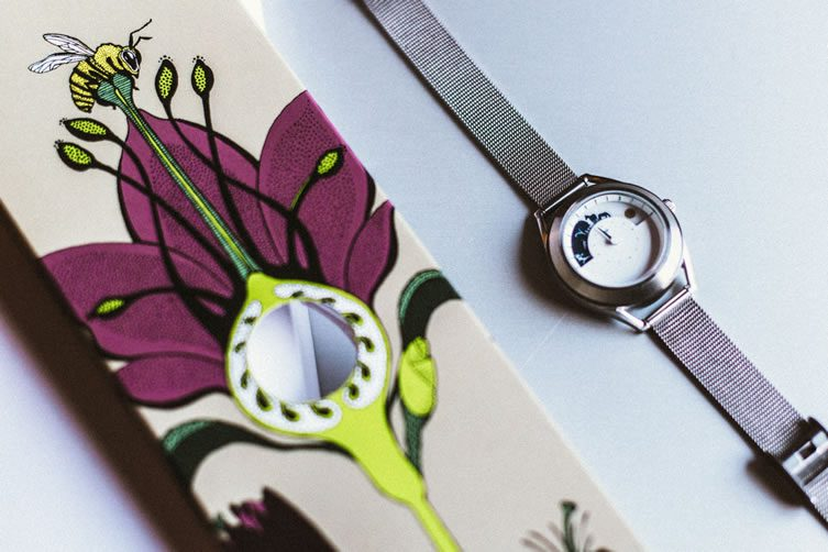 Sun and Moon Watch by Mr Jones Watches