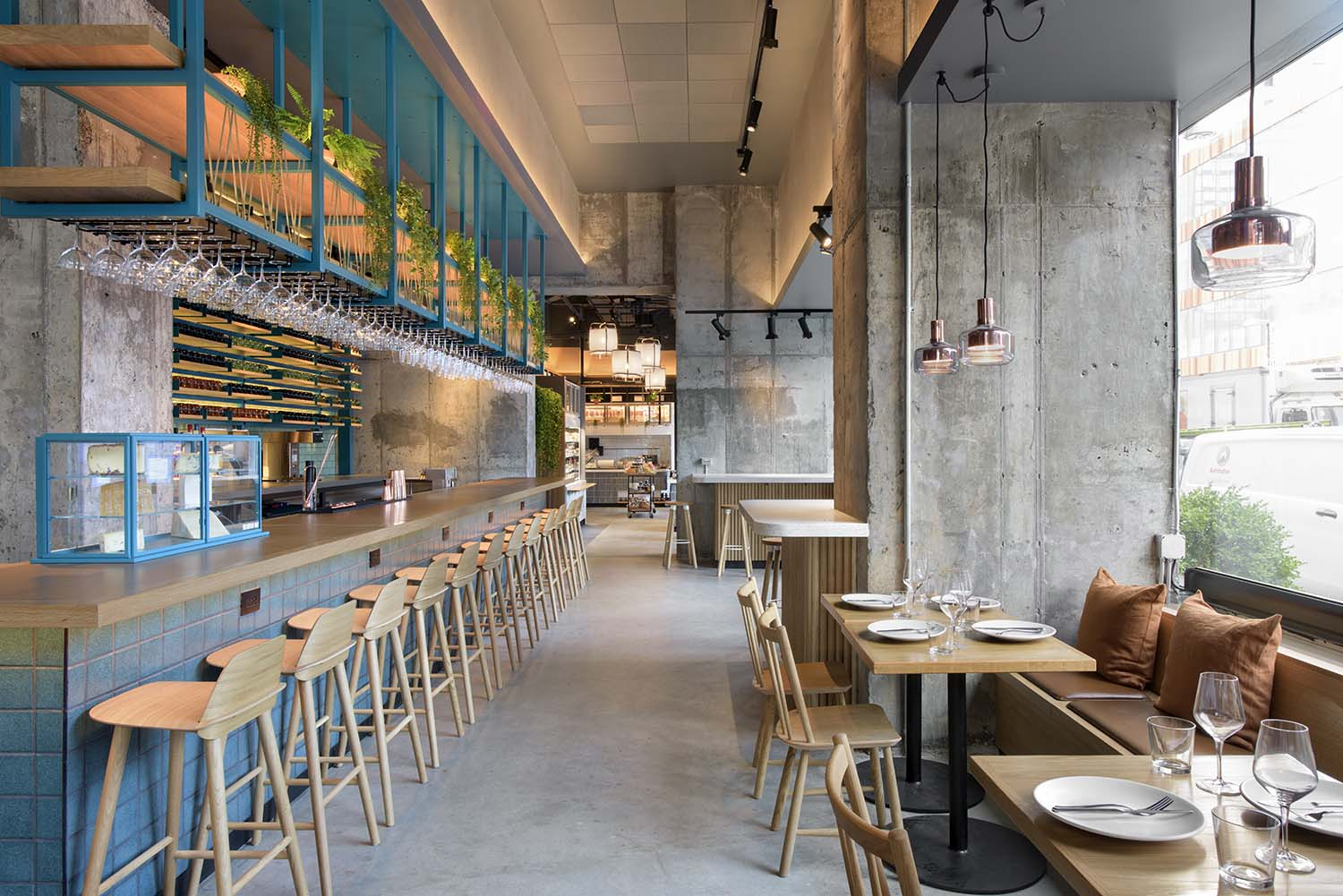 Murray's Cheese Bar Long Island City, Designed by Rockwell Group