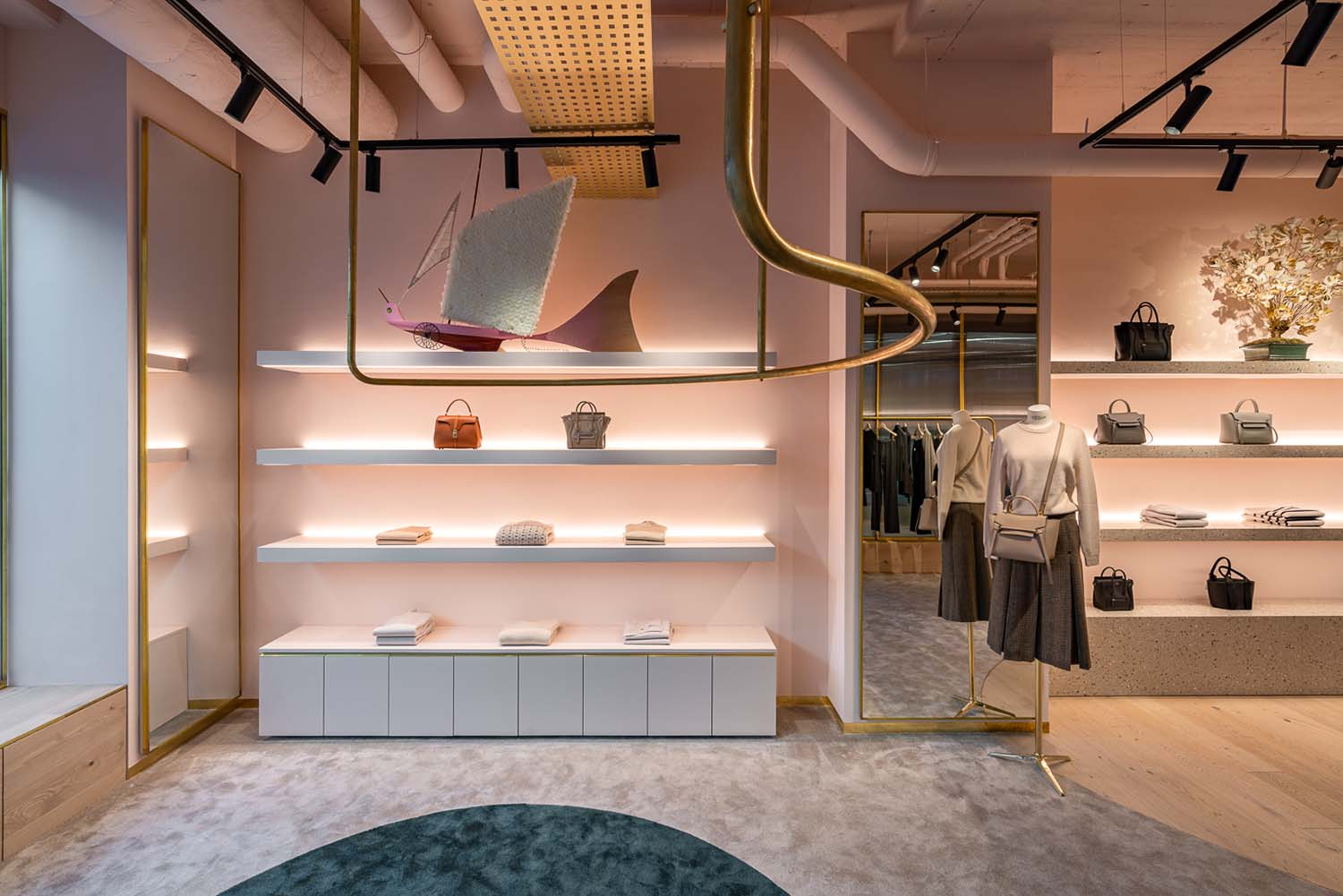 Muse By... Luxembourg City Concept Store Designed by Michaelis Boyd