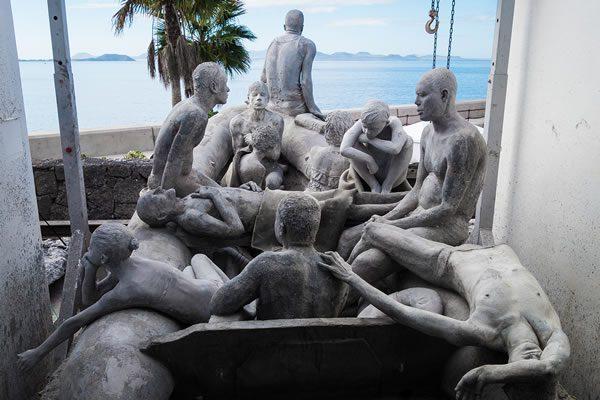 Jason deCaires Taylor Museo Atlantico Lanzarote