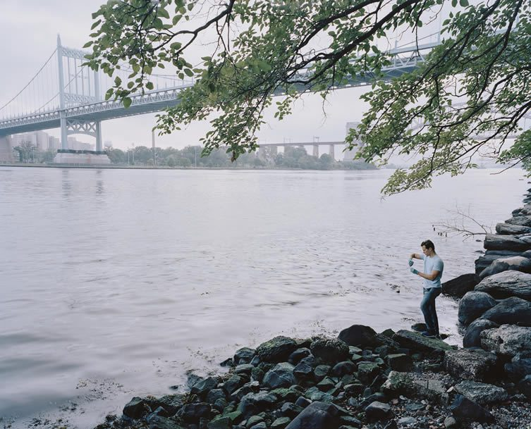 Citizen Science Leader tests the East River at Astoria Park, New York
