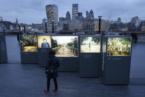 Mustafah Abdulaziz, Water Stories at Brooklyn Bridge Plaza, DUMBO, New York City