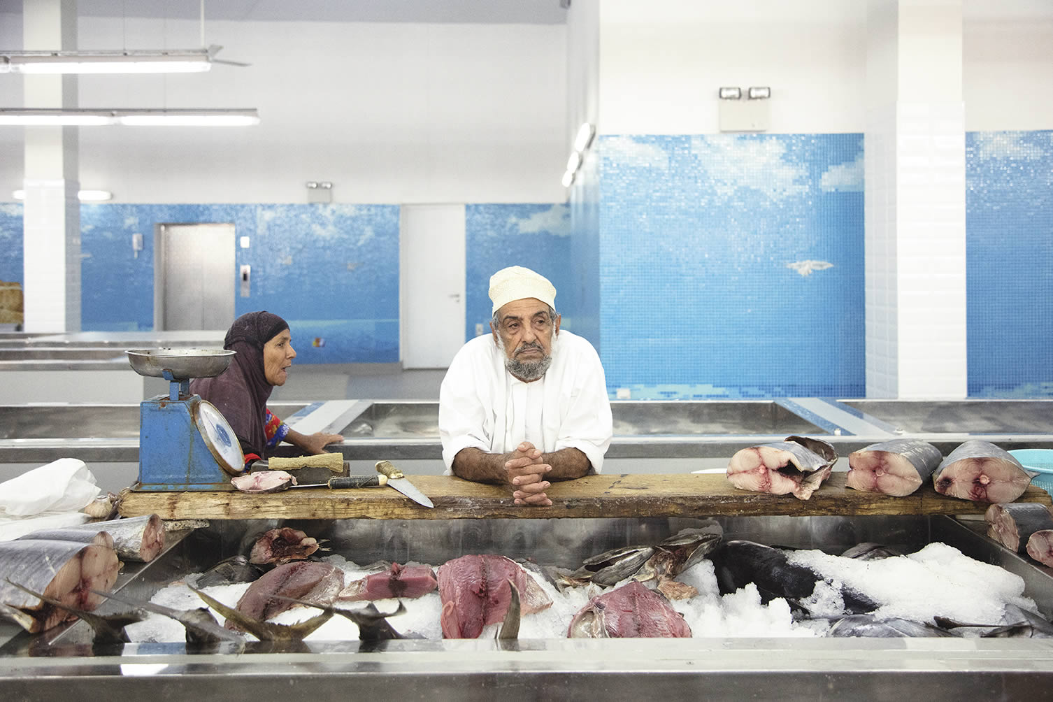 Muttrah Fish Market Muscat, Oman, Designed by Snøhetta
