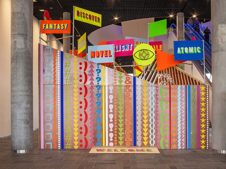Morag Myerscough & Luke Morgan — The Pavilion, Library of Birmingham