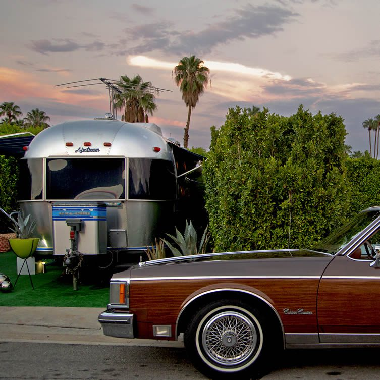 Nancy Baron, Airstream Sunset