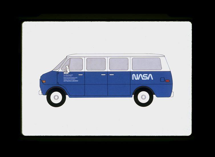 Jet Propulsion Laboratory Van