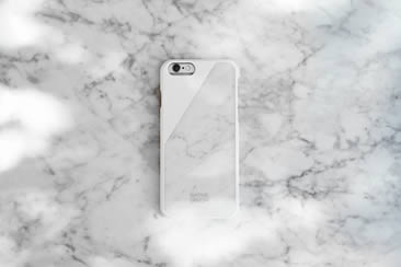 Native Union, CLIC Marble iPhone Cases