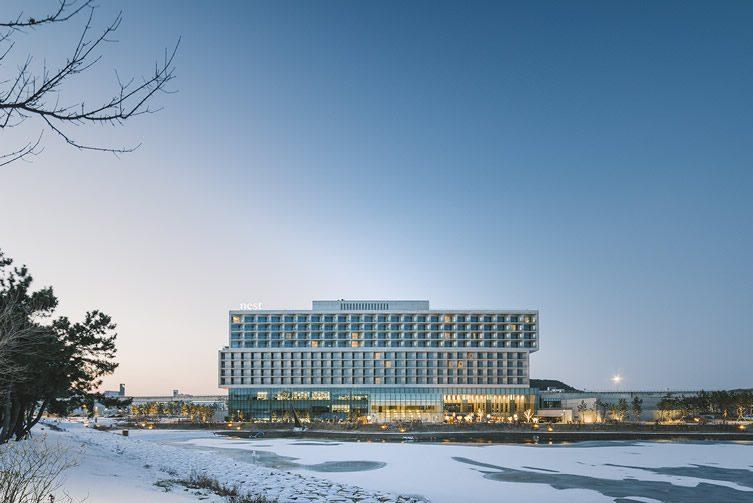 Nest hotel incheon yeongjongdo south korea for Design hotel korea