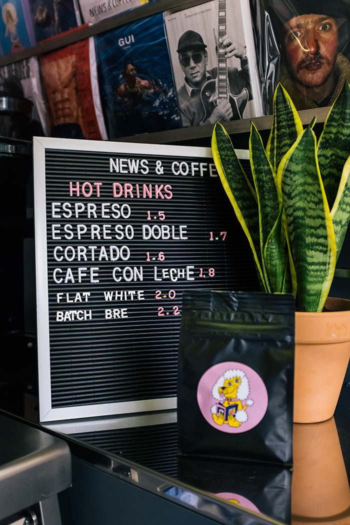 News & Coffee Barcelona