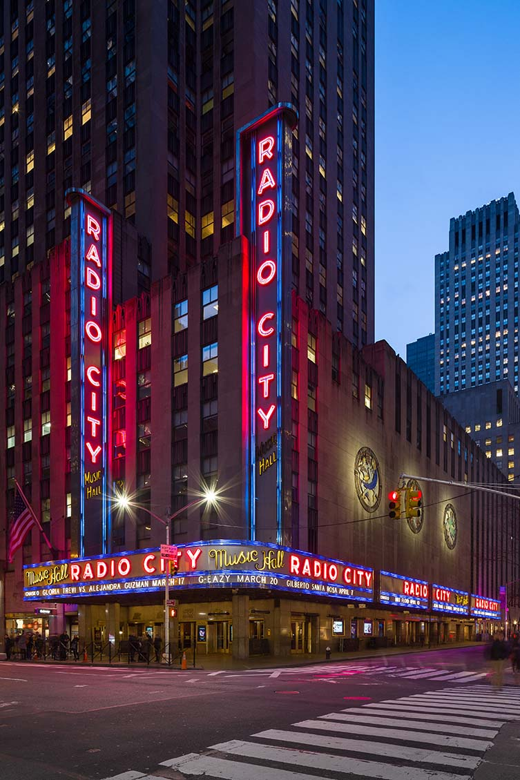 Radio City Music Hall by Edward Durell Stone and Donald Deskey