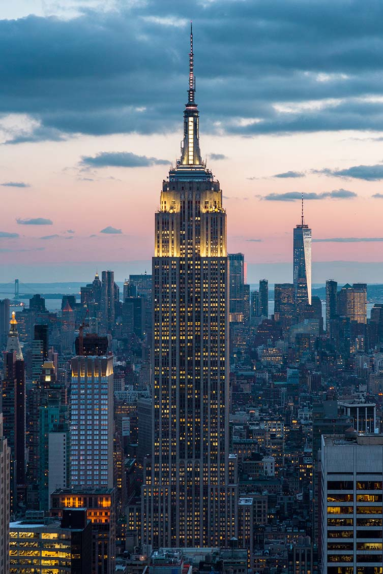 Empire State Building by Shreve, Lamb & Harmon