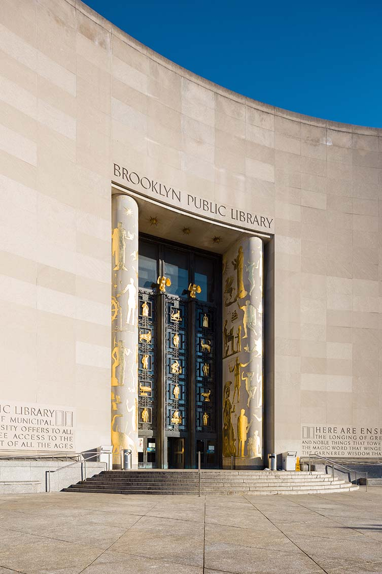 Brooklyn Public Library - Central Library by Alfred Morton Githens and Francis Keally