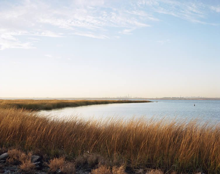 Marsh, Bay, Skyline, Jamaica Bay, Queens