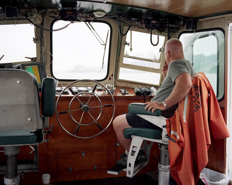 Captain Greg Porteus, Launch 5, The Hudson River
